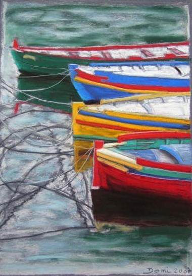 Les barques, 41x29