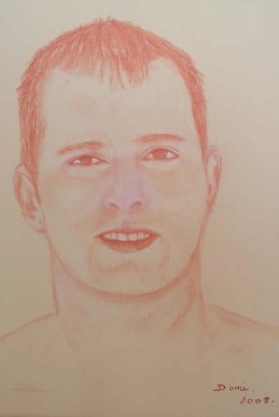 Portrait Johan 40x30