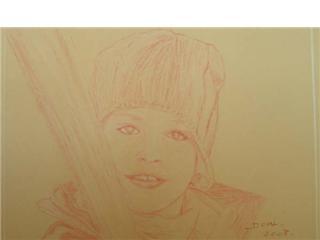 Portrait Valentin 7ans 50x40