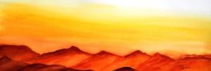 copie-de-185.lumiere-sur-les-montagnes-aquarelle-50x20cm-300x102