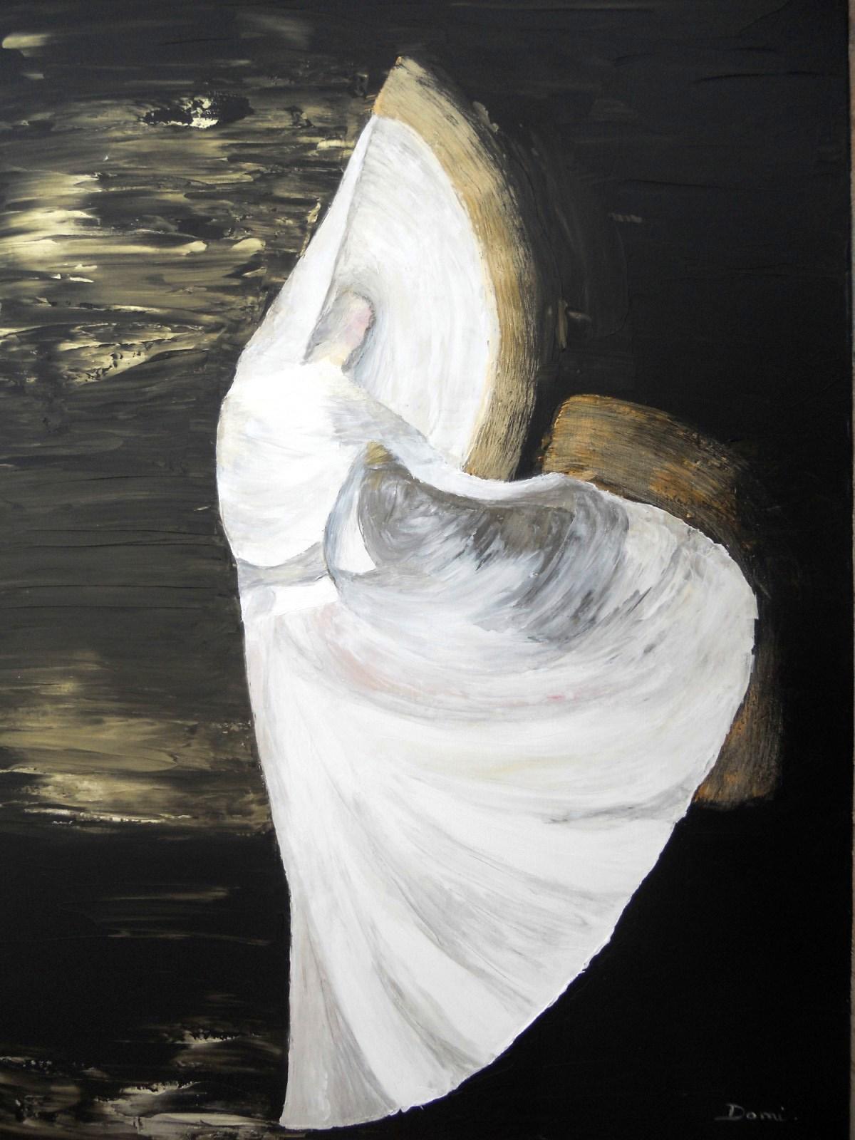 Danse, 81x60, acrylique