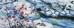 191.-ruisseau-givre-aquarelle-90x30cm-300x115