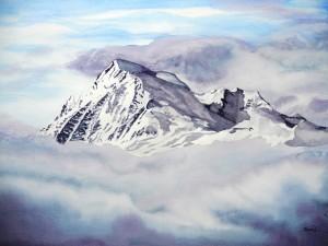 196.pic-de-chaillol-aquarelle-70x50cm1-300x225 dans Nouveaux tableaux