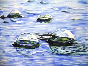 Copie de 211.bulles de pluie concour l'art de l'aquarelle